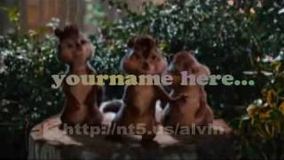 Alvin and Chipmunks - Happy Birthday Gig