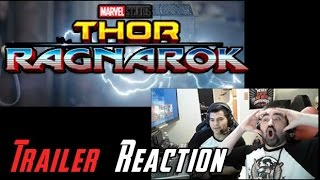 Thor Ragnarok Angry Trailer Reaction