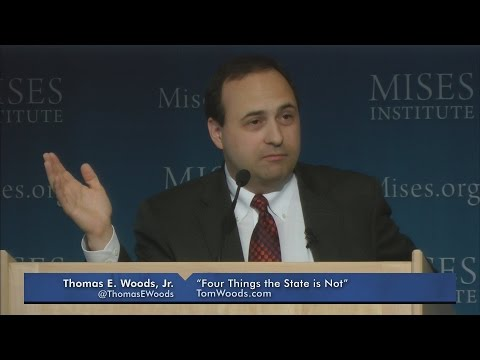 Four Things the State is Not | Tom Woods