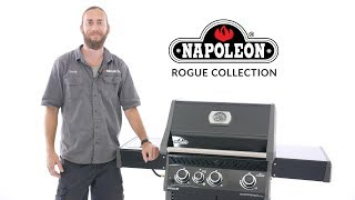 Napoleon Rogue Gas Grill Overview | 425 Black Edition | BBQGuys