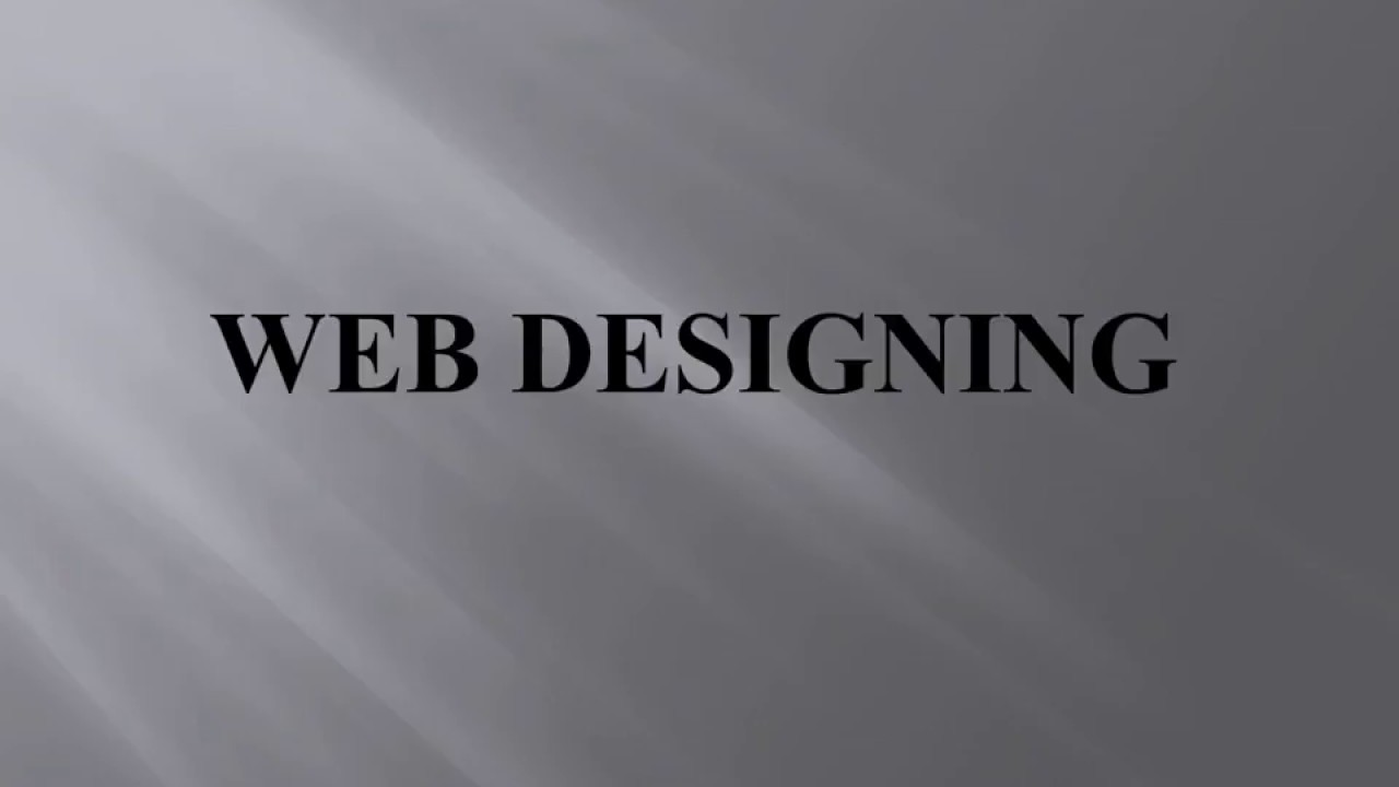 Best Web Designing Courses Classes In Pune Fees Milindmorey Youtube