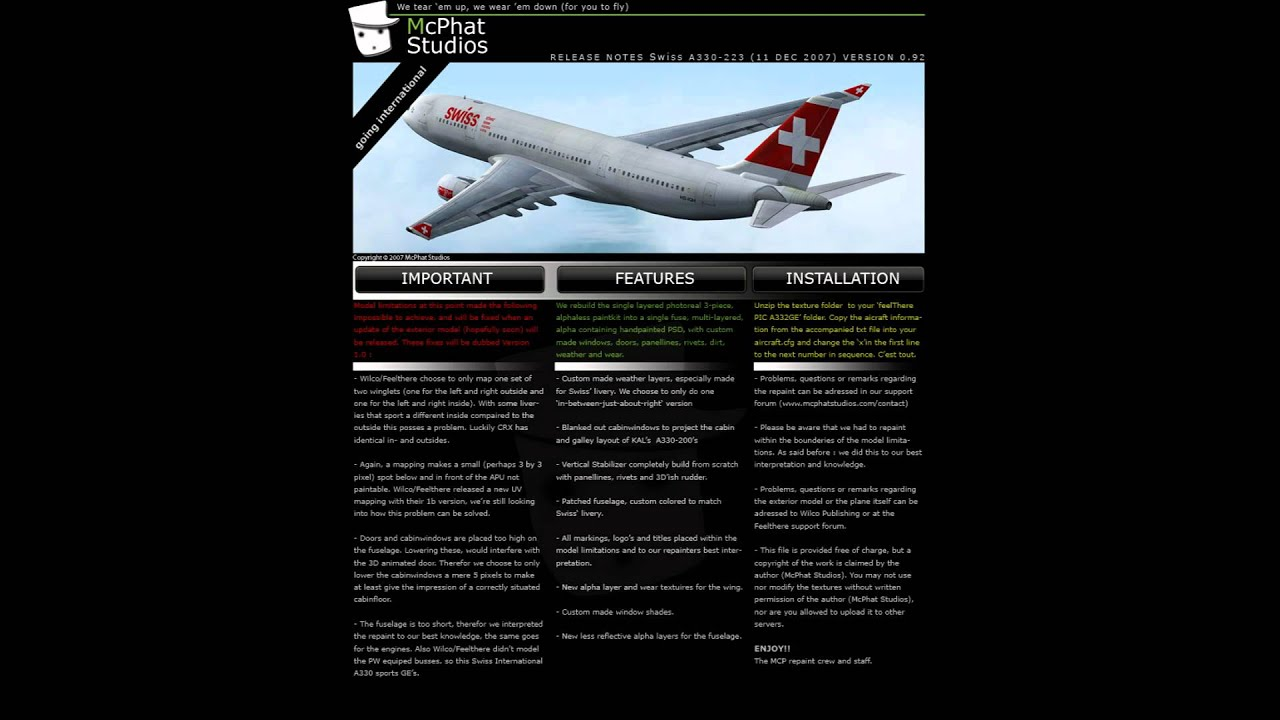 Free Wilco A330 Airbus Repaints From Mcphat /Ein/KLM/Tap