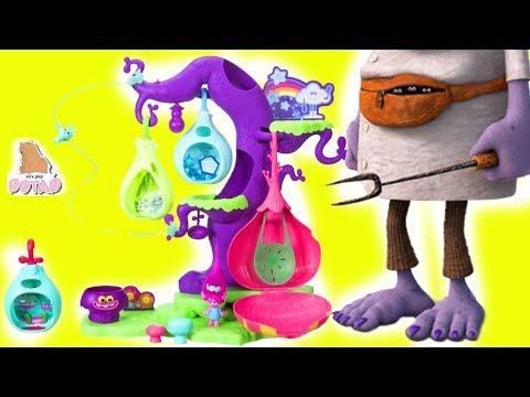 Тролли Мультик. Детское Видео. ДЕРЕВО ТРОЛЛЕЙ! Мультфильм TROLLS Игрушки #Тролли #ad