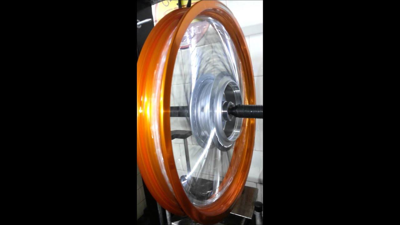 Roda De Titan 150 Com 72 Raios Youtube