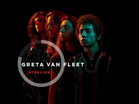GRETA VAN FLEET | INTERVIEW AT DOWNLOAD FESTIVAL 2018