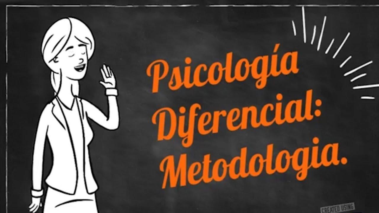 ¿QUÉ ES LA PSICOLOGÍA DIFERENCIAL?