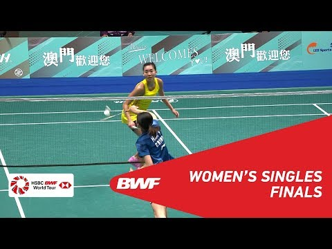 F | WS | Michelle LI (CAN) [1] vs HAN Yue (CHN) [5] | BWF 2018