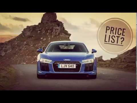 Audi Cars Price List! New & Updated.