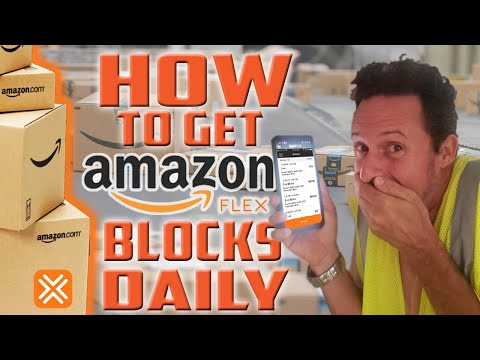 How to Get Blocks on Amazon Flex DAILY (2020)