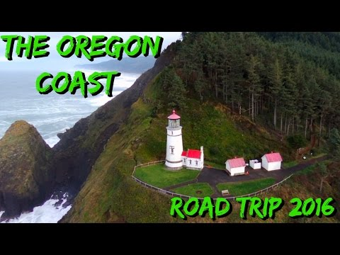 Oregon Coast Road Trip in 4 Minutes