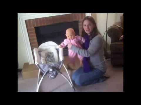 398bfb6af Graco Little Lounger- Must have for all babies - YouTube