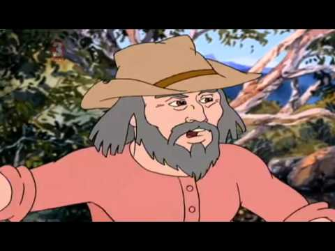 The Silver Brumby - S1E5 The Old Prospector Saves A Friend
