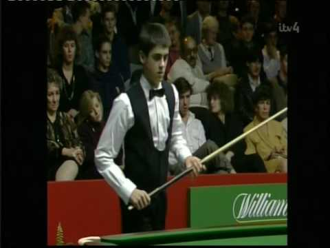 1990 young 14 year old Ronnie Osullivan - first tv appearance