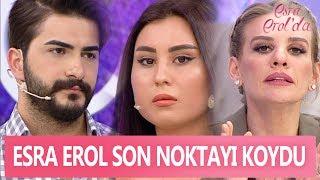 Esra Erol Mustafa-Ceyda aşkına son noktayı koydu! - Esra Erol'da 17 Mayıs 2017