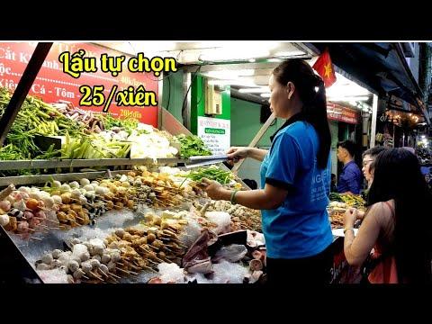 Ngon Quá (Lẩu Xiên Que Tự Chọn) Tả Bí Lù ở Sài Gòn | Saigon Travel Guide