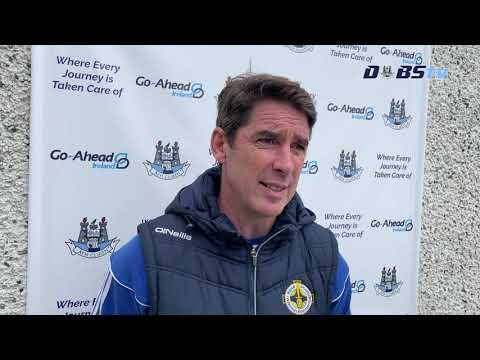 Ballyboden St Endas manager Anthony Rainbow speaks to DubsTV after victory over Raheny