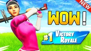 IT'S THE TOP 1 LORSQUE I HAVE THE NEW SKIN ''BIRDIE'' ON FORTNITE!