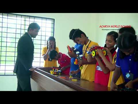 ACHARYA WORLD SCHOOL, Pete Kurbarahalli,  Ramnagara.