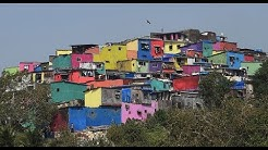Thane Post | Colorful makeover of Indira Nagar slum of Thane