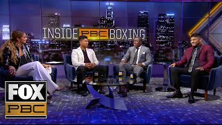 Mikey Garcia, Andre Berto, Abner Mares & Kate Abdo talk Spence vs Porter fight | INSIDE PBC BOXING