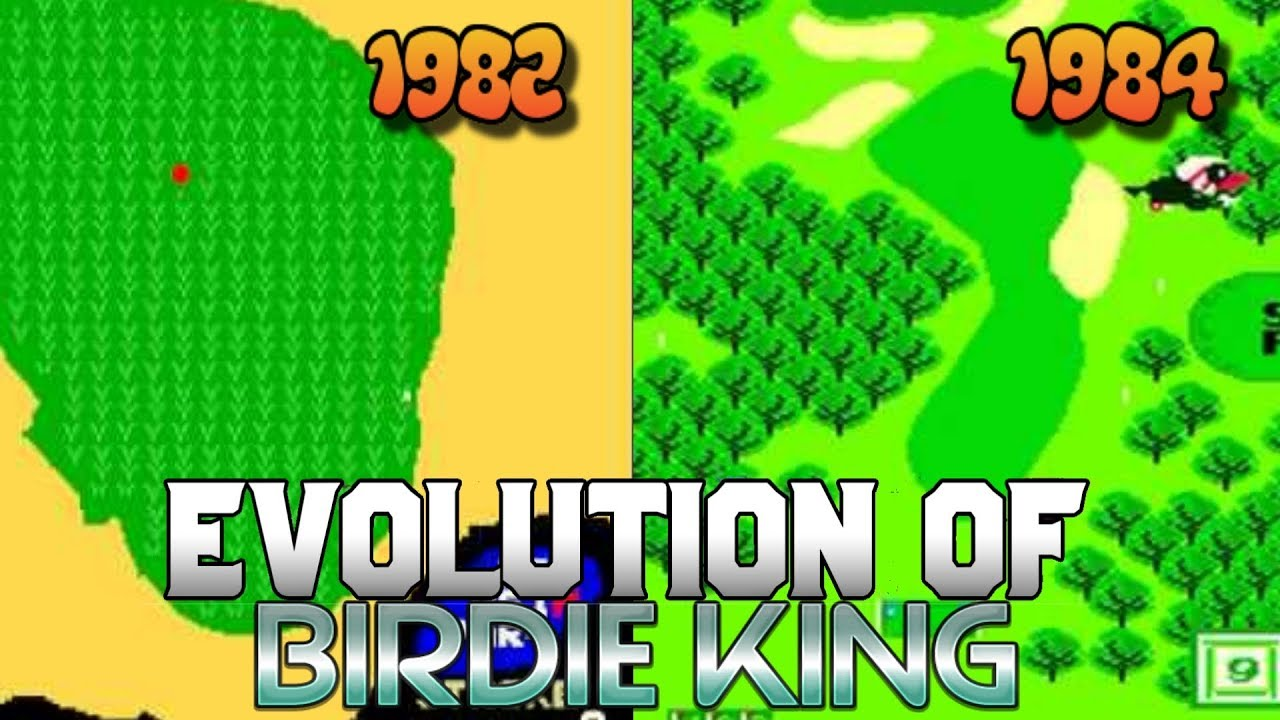 Graphical Evolution of Birdie King (1982-1984)