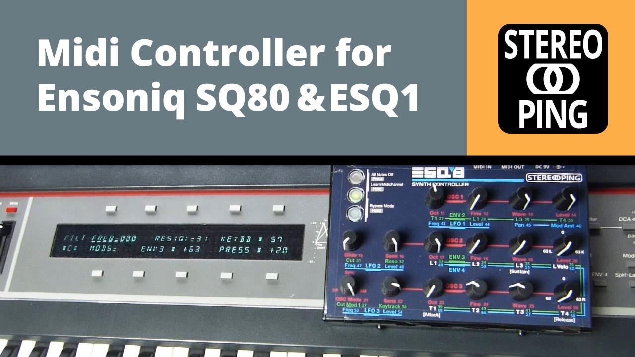ENSONIQ MIDI DRIVER FOR MAC DOWNLOAD