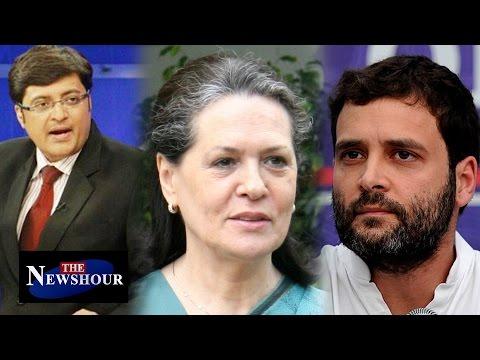 Gandhis Playing Victim Card in AgustaWestland Chopper Scam : The Newshour Debate (3rd May 2016)