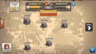 Salah satu Cara Menang dengan mudah di WAR COC clash of clan