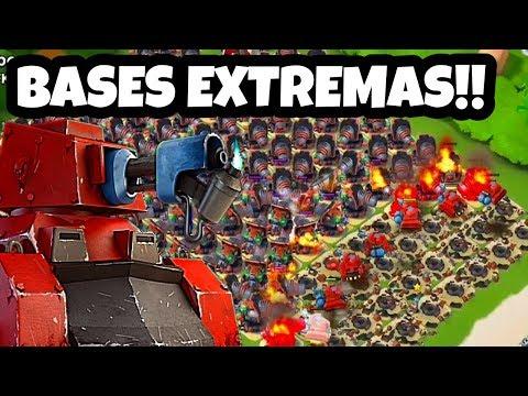BASES EXTREMAS Con ANTORCHEROS!![Boom Beach][Alfredo YT]