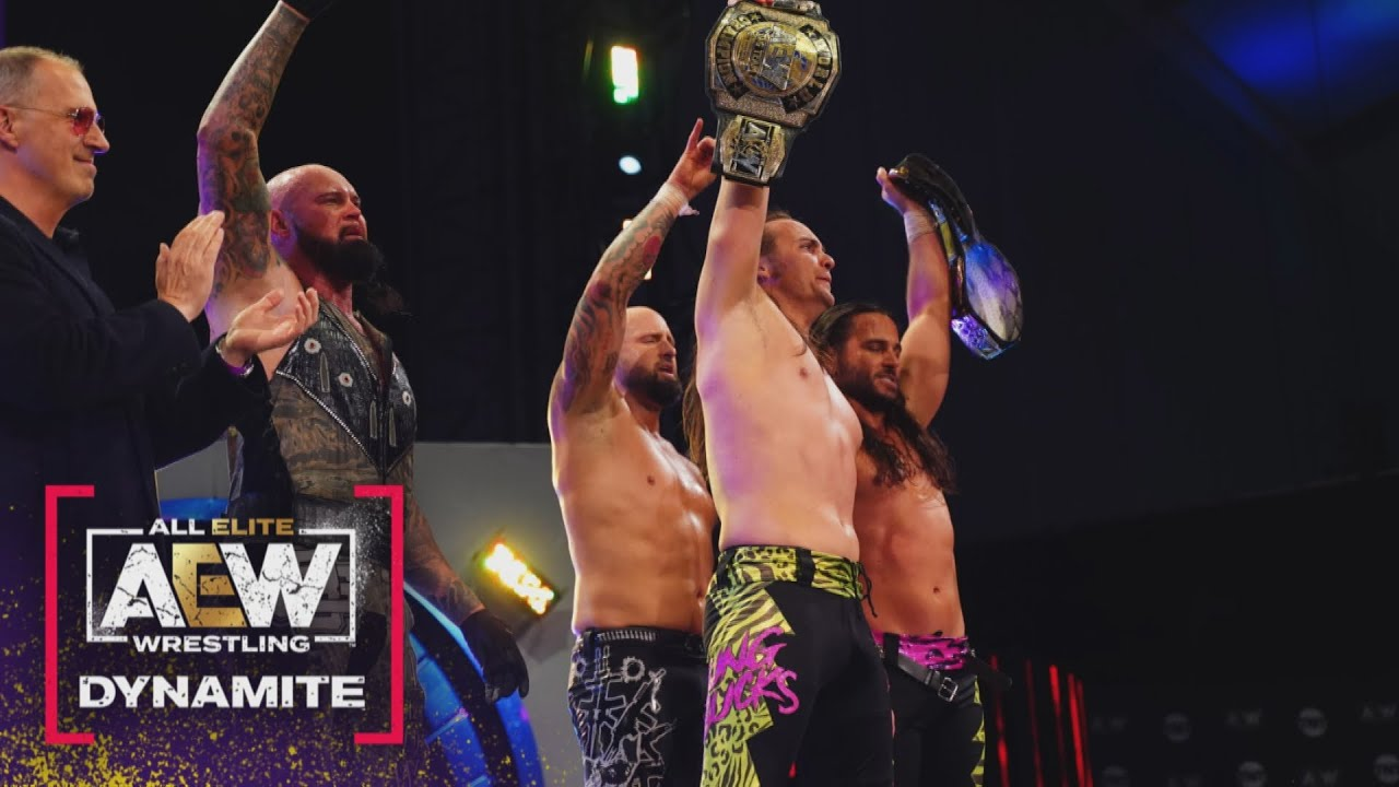Download Shock and Awe! Did Anyone See That Coming? Why Bucks Why? | AEW Dynamite, 4/7/21