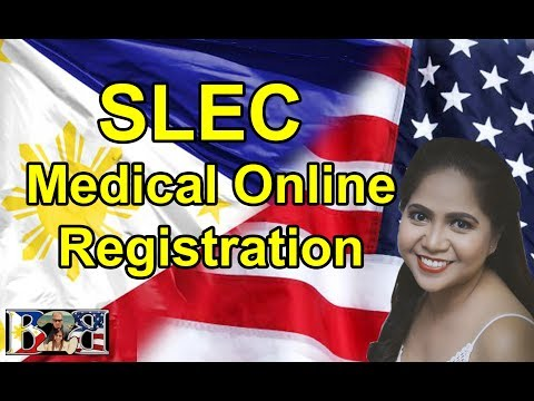 K1 Visa SLEC MEDICAL ONLINE REGISTRATION! How to Fill-out the Form!