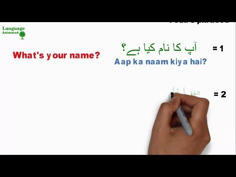 Learn Urdu - Lesson 8 - Basic Words and Phrases ( Part 3 )