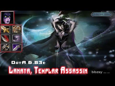 DotA Templar Assassin, Lanaya - Beyond GODLIKE + RAMPAGE!!
