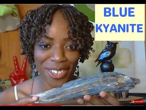 Blue Kyanite Crystal: Astral Travel, Dreams, Spirit Guide, A