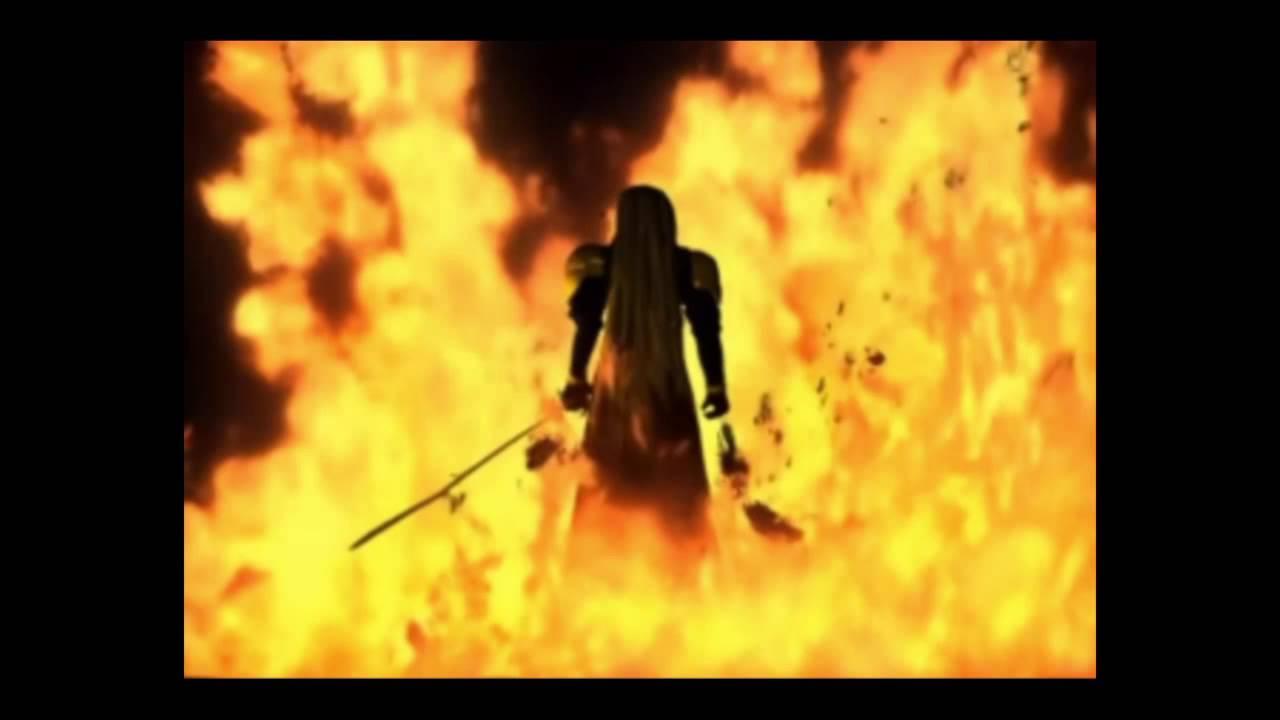Final Fantasy Vii Sephiroth Fire Outro Ps4