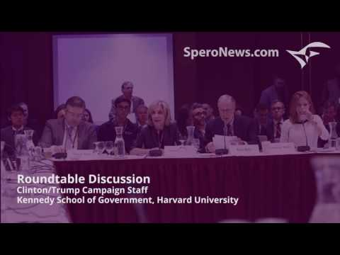 Clinton, Trump advisors get into nasty fight at Harvard