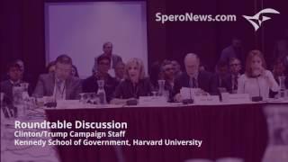 Clinton, Trump advisors get into nasty fight at Harvard