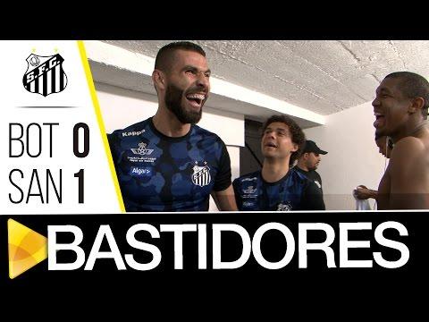Botafogo 0 x 1 Santos | BASTIDORES | Brasileirão (15/09/16)