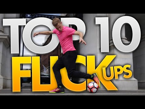 TOP 10 AWESOME FOOTBALL FLICK UPS!!!