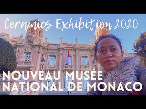 📍🇲🇨 NOUVEAU MUSÉE NATIONAL DE MONACO - FREE  ENTRANCE CERAMICS EXHIBITION 2020 - MUSEUM TOUR
