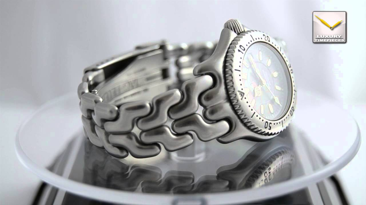 5bfab19481a TAG HEUER PROFESSIONAL 200 METERS LADIES WATCH - YouTube