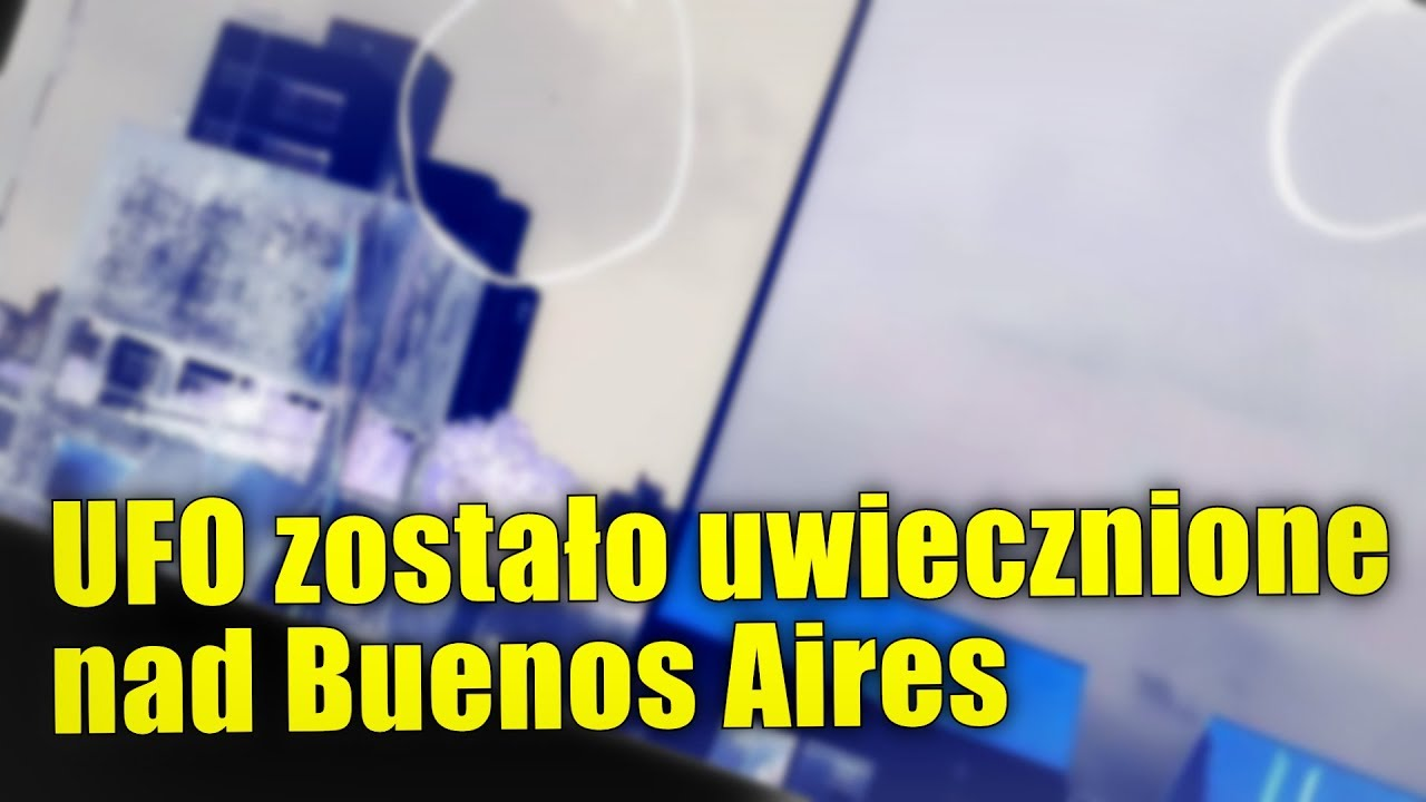 Kolejne UFO zostało uwiecznione na niebie nad Argentyną!