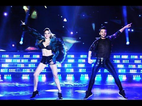 Agustín Casanova bailó Moves like Jagger en su debut en el Bailando.