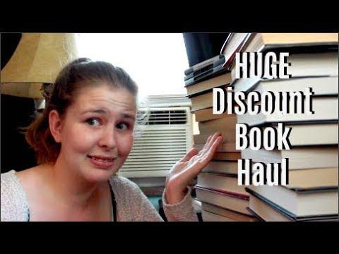 HUGE Discount Book Haul