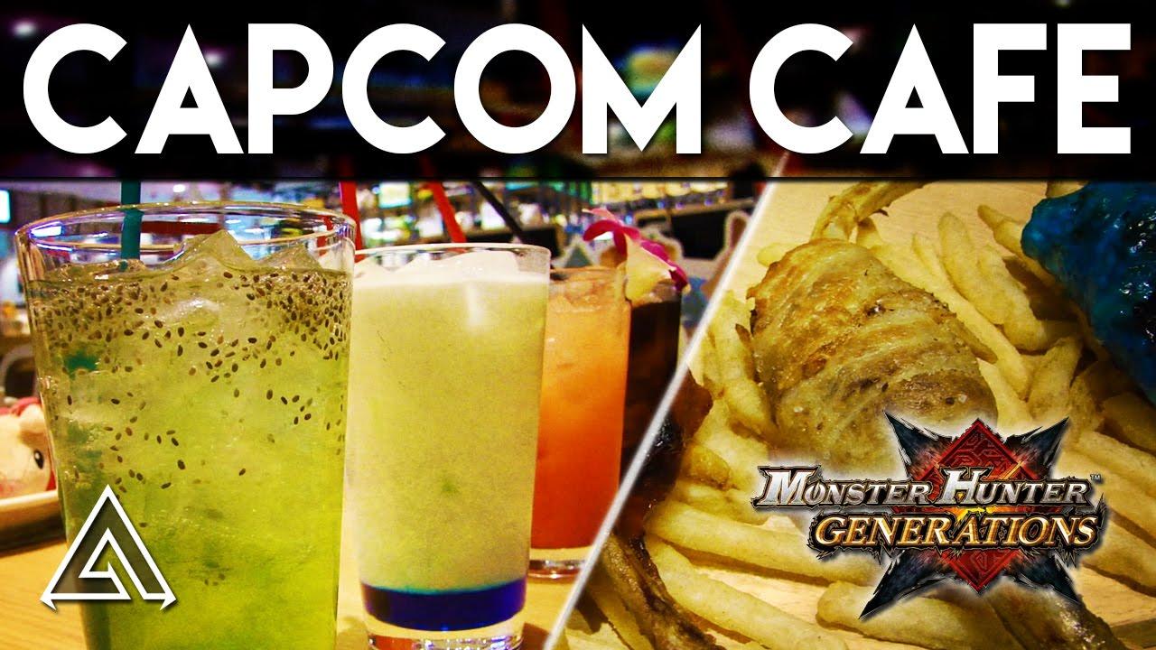 Monster Hunter Generations in Japan - Capcom Cafe & Capcom Bar