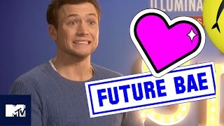 Taron Egerton Goes Speed Dating | Sing | MTV Movies