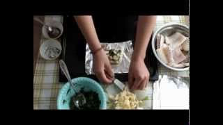 Лёгкий ужин: Запечённая рыба с имбирём