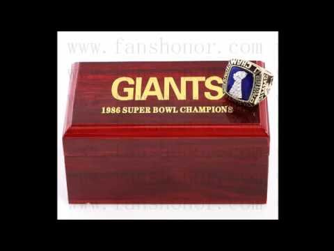 Custom NFL 1986 Super Bowl XXI New York giants Championship Ring