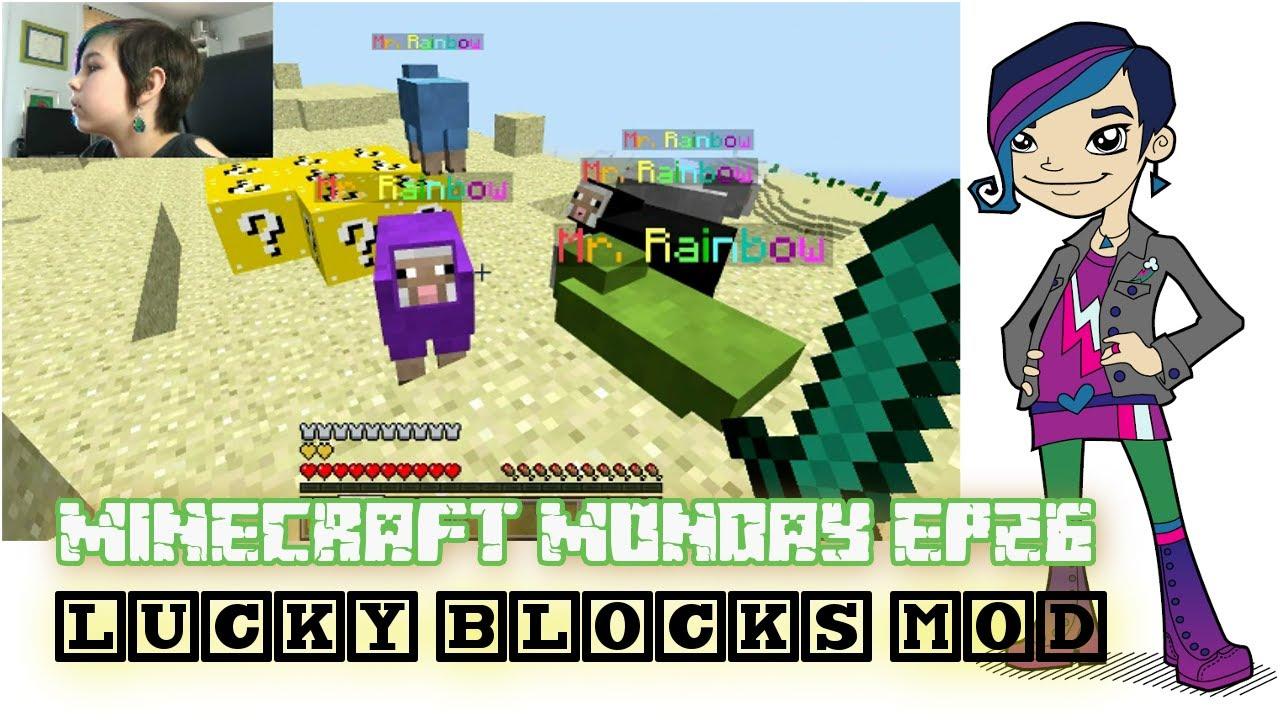 Minecraft Monday Ep26 Lucky Blocks Mod Youtube