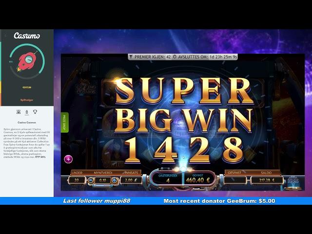 Cazino Cosmos - Mega Win